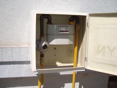 Plynomerná skrinka